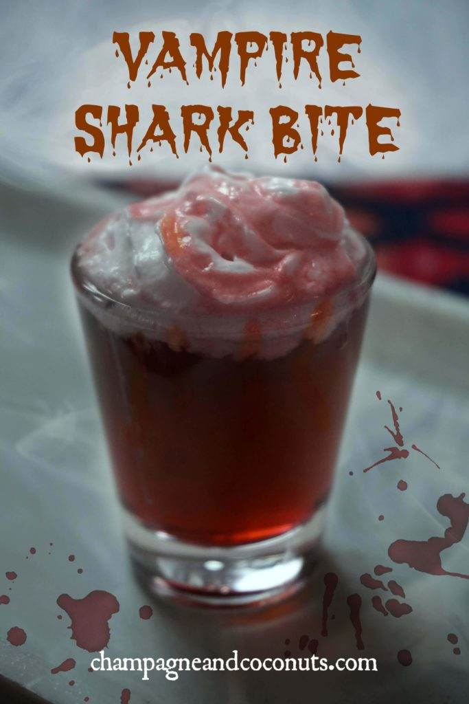 The Vampire Shark Bite Shot is perfect for Halloween parties
