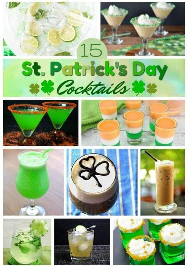 Festive St Patrick's Day Drinks