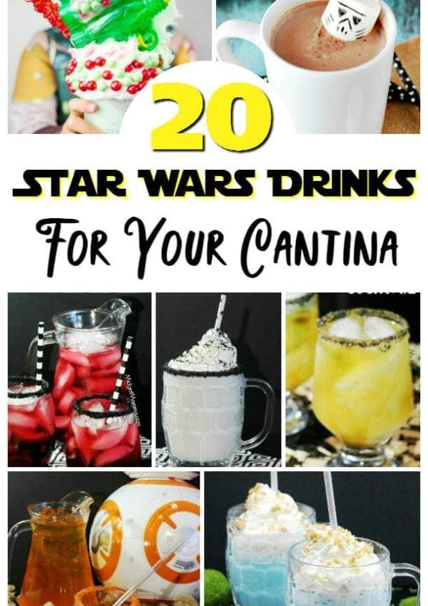 Star Wars Drinks for your Cantina