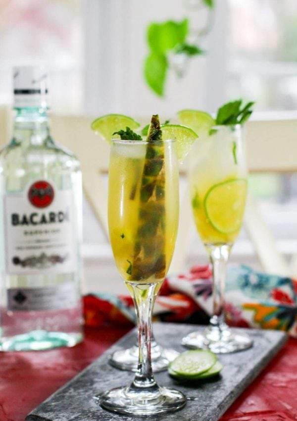 Pineapple Mojito Cocktail Recipe