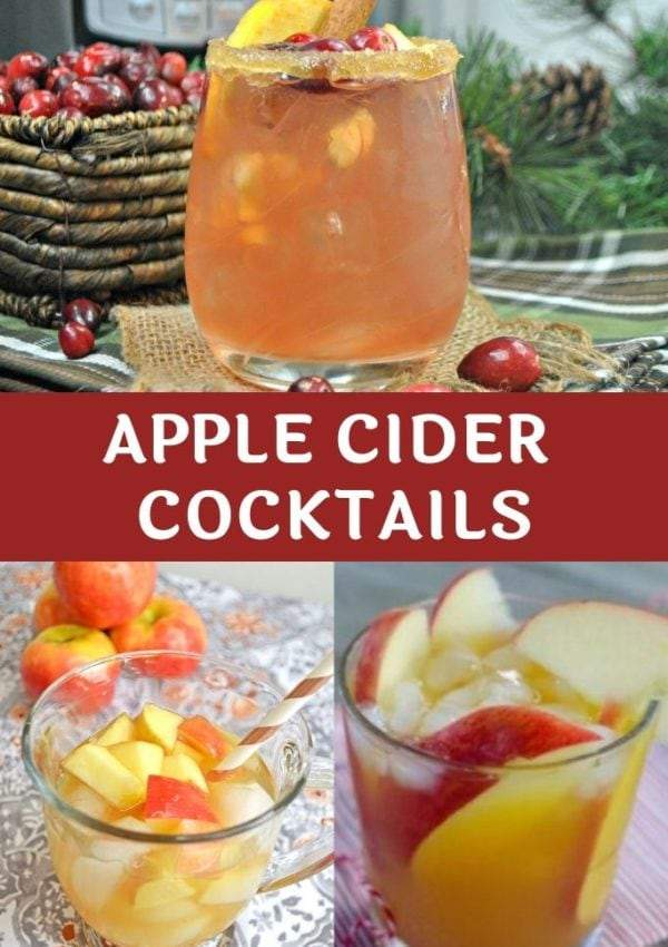 Mulled Apple Cider Cocktails are Great for Cold Nights