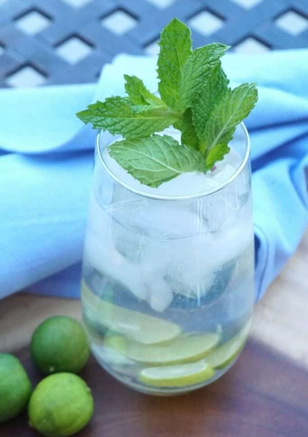 Cucumber Lime Vodka Collins Recipe