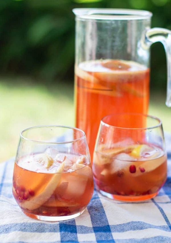 Ginger Peach Kentucky Buck Recipe