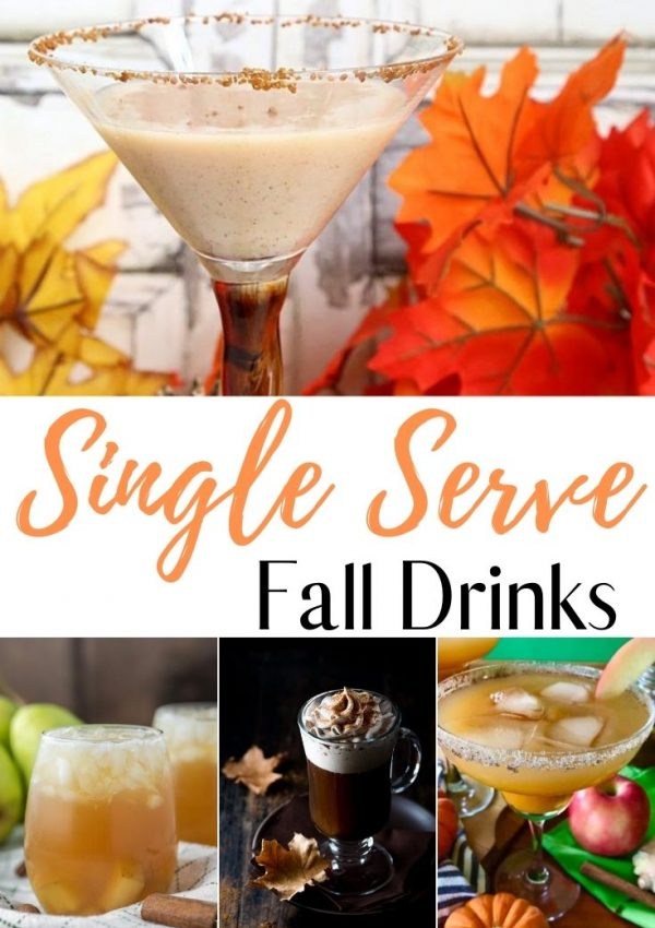 Fall Single Serve Cocktails
